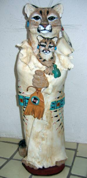 cougar art, mountain Lion Art, Puma art