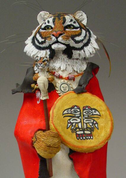 Tiger Art, Shamanic Art