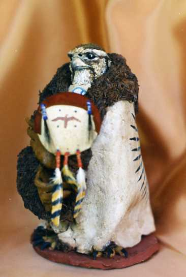 Hawk Art, Hawk Sculpture, Shamanic Sculpture